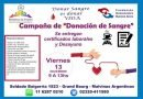 CAMPAÑA DE DONACIÓN DE SANGRE EN GRAND BOURG