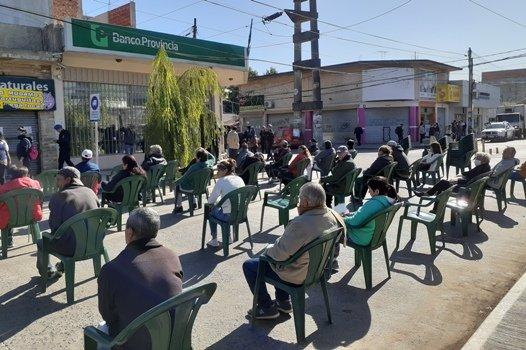 SIGUEN LOS OPERATIVOS EN BANCOS