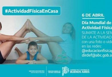 CAMPAÑA PARA PROMOVER ACTIVIDAD FÍSICA EN CASA