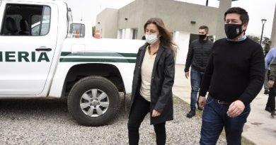 NARDINI RECIBIÓ A LA MINISTRA DE SEGURIDAD SABRINA FREDERIC
