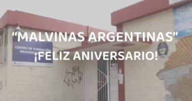 MUESTRA DE LAS ESCUELAS POR LOS 25 AÑOS DE MALVINAS ARGENTINAS