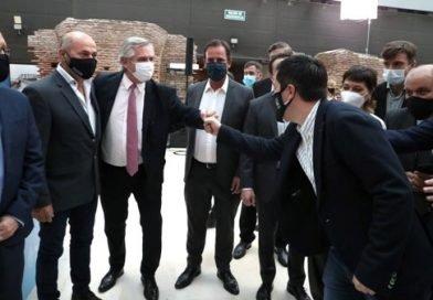 NARDINI, EN EL LANZAMIENTO DE 87 MIL CRÉDITOS PARA VIVIENDAS
