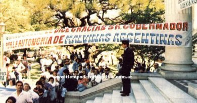 ANIVERSARIO 27 DE LA CREACIÓN DE MALVINAS ARGENTINAS